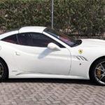 Ferrari California white